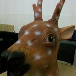 2014 Sika Deer Head Mask