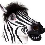 Zebra Head Mask