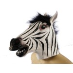 Zebra Head Mask