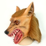 Brown Wolf Head