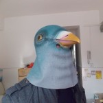 Green Pigeon Mask