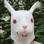 White Rabbit Head Mask