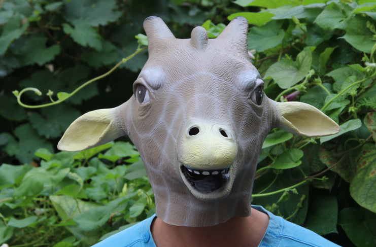 Giraffe Head Mask