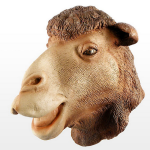 Brown Camel Mask