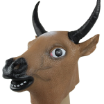 Brown Bull Mask