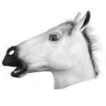 White Horse Mask