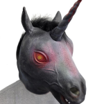 Black Unicorn Mask