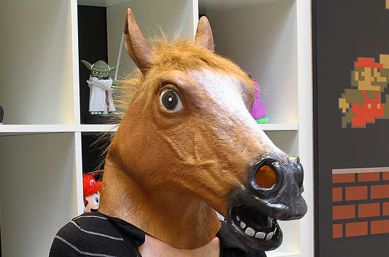 Deluxe Horse Mask