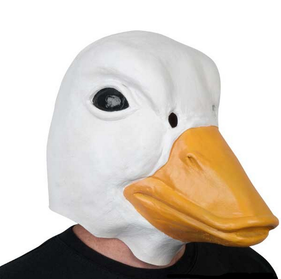 White Duck Mask